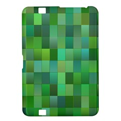 Green Blocks Pattern Backdrop Kindle Fire HD 8.9