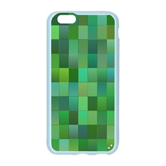 Green Blocks Pattern Backdrop Apple Seamless iPhone 6/6S Case (Color)