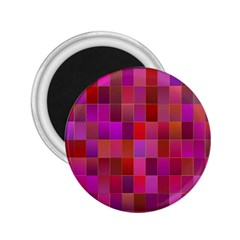 Shapes Abstract Pink 2.25  Magnets