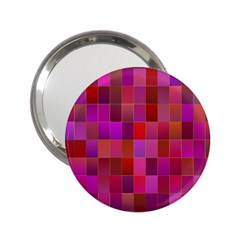 Shapes Abstract Pink 2.25  Handbag Mirrors