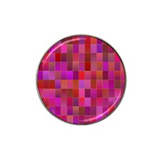Shapes Abstract Pink Hat Clip Ball Marker (4 Pack)