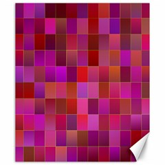 Shapes Abstract Pink Canvas 20  X 24