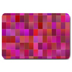 Shapes Abstract Pink Large Doormat