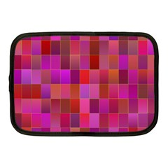 Shapes Abstract Pink Netbook Case (medium)