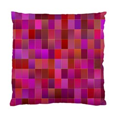 Shapes Abstract Pink Standard Cushion Case (One Side)