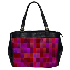 Shapes Abstract Pink Office Handbags