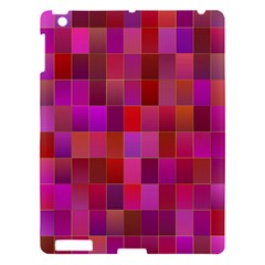 Shapes Abstract Pink Apple iPad 3/4 Hardshell Case