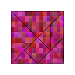 Shapes Abstract Pink Acrylic Tangram Puzzle (4  x 4 )