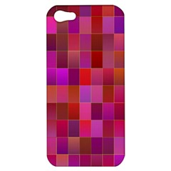 Shapes Abstract Pink Apple iPhone 5 Hardshell Case