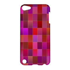 Shapes Abstract Pink Apple iPod Touch 5 Hardshell Case