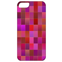 Shapes Abstract Pink Apple iPhone 5 Classic Hardshell Case