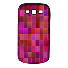 Shapes Abstract Pink Samsung Galaxy S III Classic Hardshell Case (PC+Silicone)