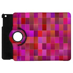 Shapes Abstract Pink Apple Ipad Mini Flip 360 Case