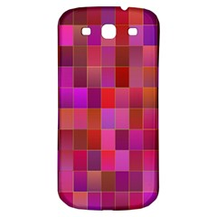 Shapes Abstract Pink Samsung Galaxy S3 S Iii Classic Hardshell Back Case