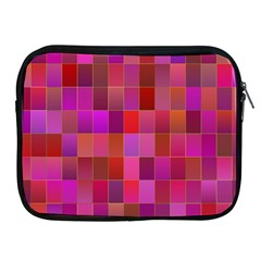Shapes Abstract Pink Apple Ipad 2/3/4 Zipper Cases
