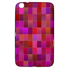 Shapes Abstract Pink Samsung Galaxy Tab 3 (8 ) T3100 Hardshell Case