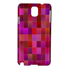 Shapes Abstract Pink Samsung Galaxy Note 3 N9005 Hardshell Case
