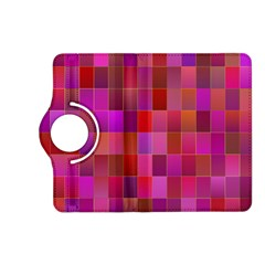 Shapes Abstract Pink Kindle Fire Hd (2013) Flip 360 Case