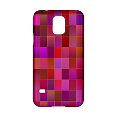 Shapes Abstract Pink Samsung Galaxy S5 Hardshell Case