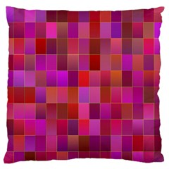 Shapes Abstract Pink Standard Flano Cushion Case (two Sides)