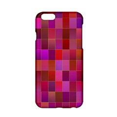 Shapes Abstract Pink Apple iPhone 6/6S Hardshell Case