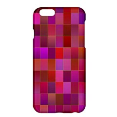 Shapes Abstract Pink Apple Iphone 6 Plus/6s Plus Hardshell Case