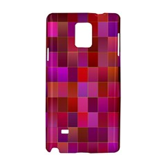Shapes Abstract Pink Samsung Galaxy Note 4 Hardshell Case
