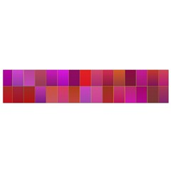 Shapes Abstract Pink Flano Scarf (Small)