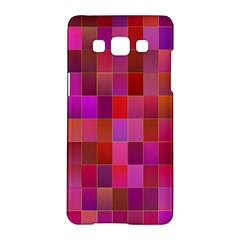 Shapes Abstract Pink Samsung Galaxy A5 Hardshell Case