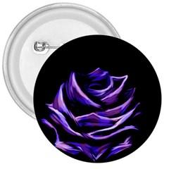 Rose Flower Design Nature Blossom 3  Buttons