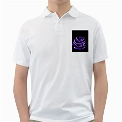 Rose Flower Design Nature Blossom Golf Shirts