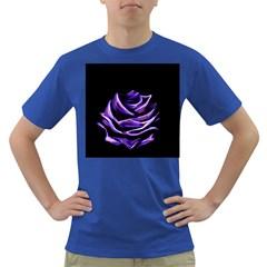 Rose Flower Design Nature Blossom Dark T-Shirt