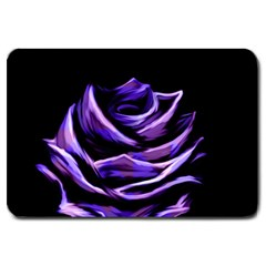 Rose Flower Design Nature Blossom Large Doormat