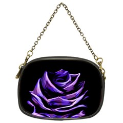 Rose Flower Design Nature Blossom Chain Purses (two Sides)