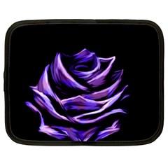 Rose Flower Design Nature Blossom Netbook Case (XL)