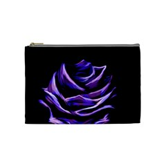 Rose Flower Design Nature Blossom Cosmetic Bag (Medium)