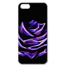 Rose Flower Design Nature Blossom Apple Seamless Iphone 5 Case (clear)