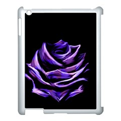 Rose Flower Design Nature Blossom Apple Ipad 3/4 Case (white)