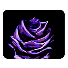 Rose Flower Design Nature Blossom Double Sided Flano Blanket (Large)