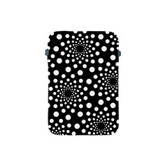 Dot Dots Round Black And White Apple Ipad Mini Protective Soft Cases