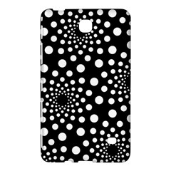 Dot Dots Round Black And White Samsung Galaxy Tab 4 (8 ) Hardshell Case