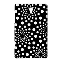 Dot Dots Round Black And White Samsung Galaxy Tab S (8.4 ) Hardshell Case