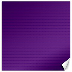 Pattern Violet Purple Background Canvas 16  X 16