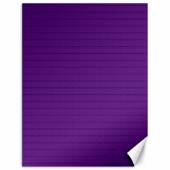 Pattern Violet Purple Background Canvas 18  x 24