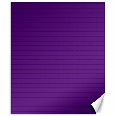 Pattern Violet Purple Background Canvas 20  x 24
