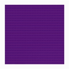 Pattern Violet Purple Background Medium Glasses Cloth (2-Side)