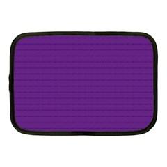 Pattern Violet Purple Background Netbook Case (Medium)