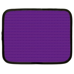Pattern Violet Purple Background Netbook Case (Large)