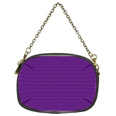 Pattern Violet Purple Background Chain Purses (One Side)
