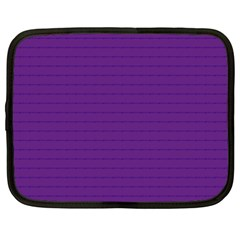 Pattern Violet Purple Background Netbook Case (XXL)